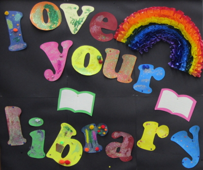 Love your Library display